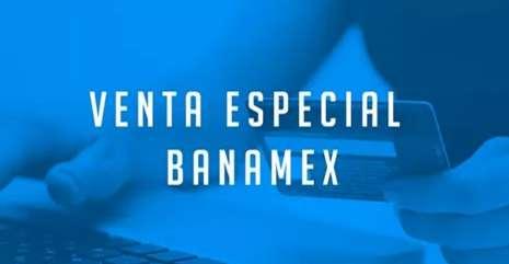 Venta especial Banamex Innovasport