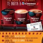 Promoción Cinemex Nescafé Alegría