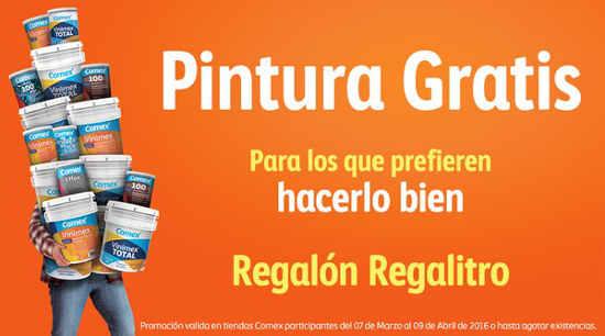 Promoción Comex Regalón Regalitro