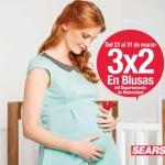 Sears 3×2 en blusas de maternidad