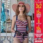 Sears ropa de playa y trajes de baño para dama