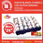 Soriana charola de huevo