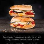 Starbucks Panini Gratis con Frapuccinos