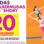 Suburbia vermudas, playeras, shorts y capris