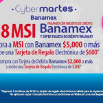 Walmart Cyber Martes Banamex