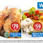Walmart ofertas de carnes, pescados y mariscos