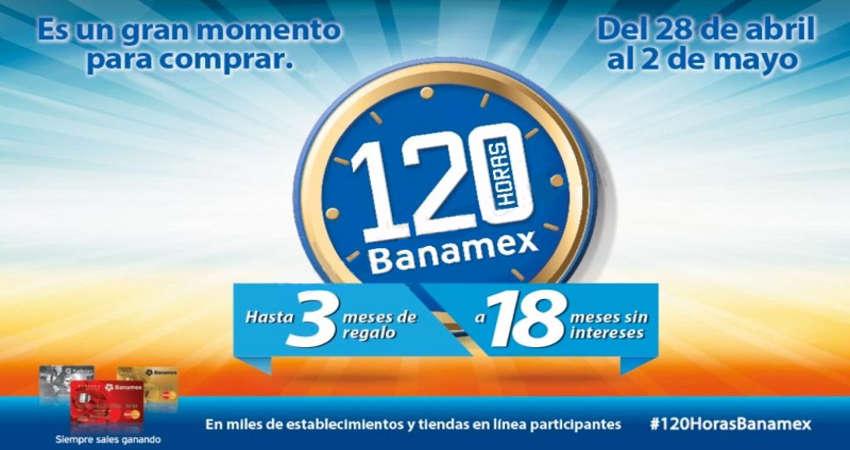 Banamex 120 horas Banamex 2016