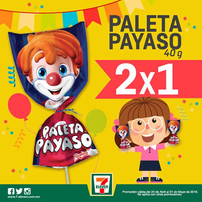 7 Eleven promoción del día del niño