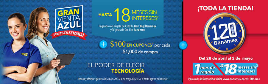 Best Buy 120 Horas Banamex