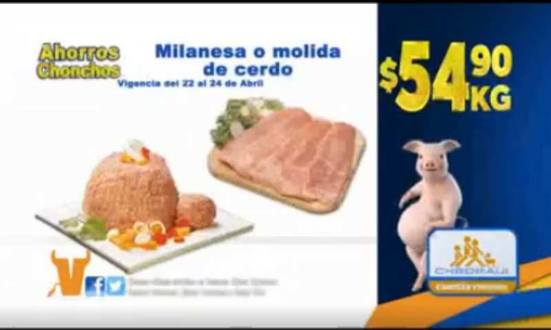 Chedraui ofertas de carnes