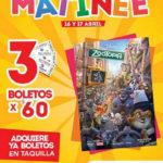 Cinemex Funciones Matinée Película Zootopia