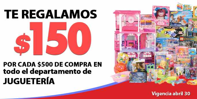 Comercial Mexicana promociones en juguetes