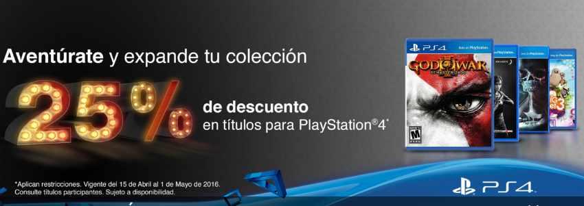 GamePlanet descuentos en Juegos PS4