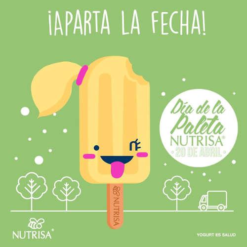 Nutrisa: Día de la Paleta Nutrisa Gratis
