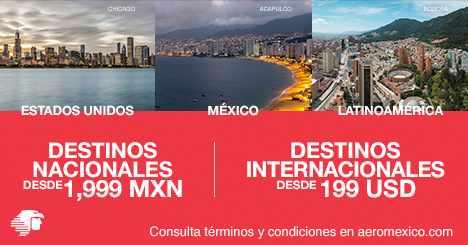 Outlet de vuelos Aeroméxico