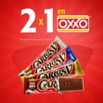 Oxxo 2x1 en chocolates Carlos V Nestle