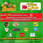 Promoción Bodega Aurrera La Ke Buena fiesta de la radio