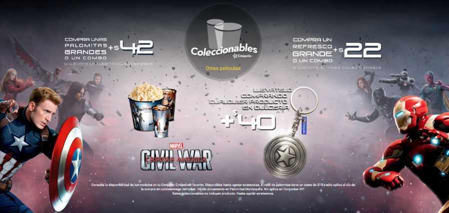 Promociones Cinepolis