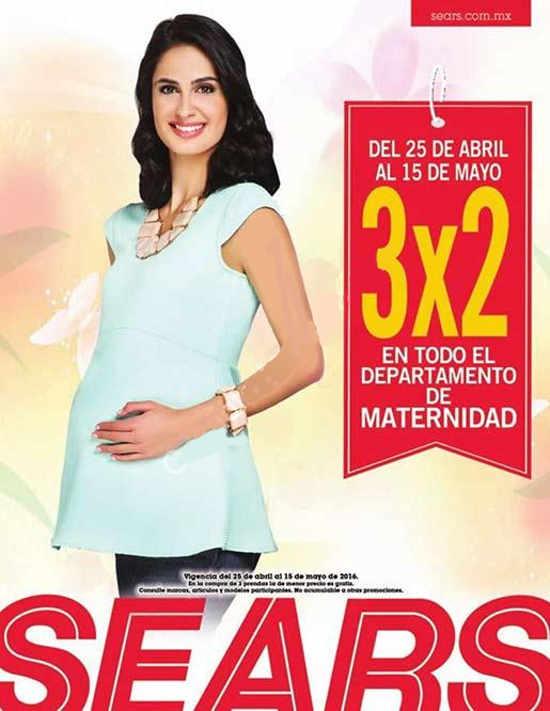 4e23fbd46 Sears  3×2 en departamento de maternidad