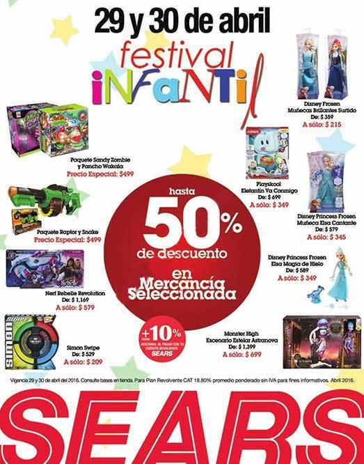 Sears Festival Infantil Día del Niño