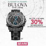 Sears descuento en relojes Bulova