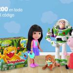 Soriana cupón descuento en juguetes