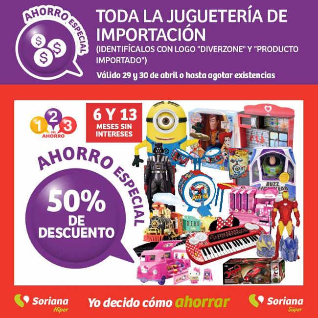 Promoción Soriana Día del Niño Juguetes