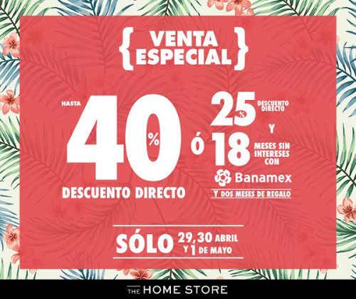 Venta Especial The Home Store