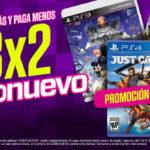 Gamers 3×2 en juegos como nuevos