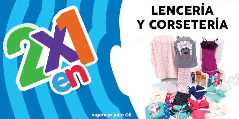Julio Regalado 2016 2×1 en lencería y corseteria