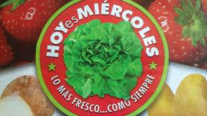 Frutas y verduras Comercial Mexicana