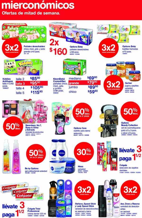 Farmacias Benavides ofertas de mierconómicos junio
