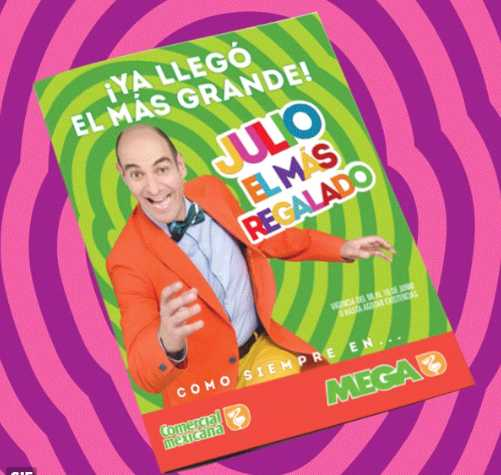 Folleto Julio Regalado 2016 en Soriana y Comercial Mexicana