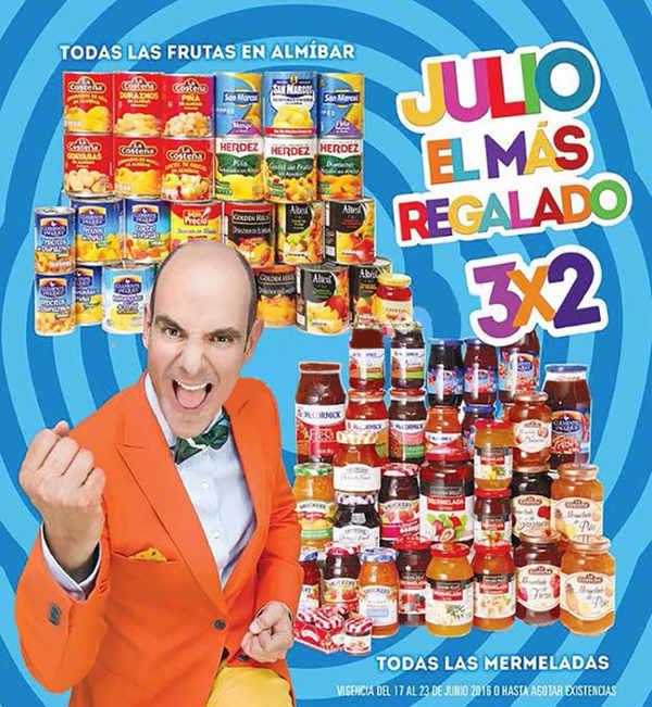 Folleto de Julio Regalado 2016 en Soriana y Comercial Mexicana