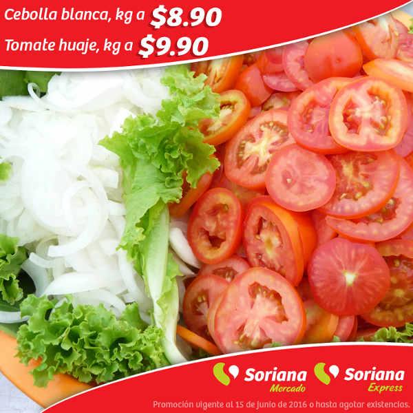 Frutas y Verduras Soriana Mercado Junio