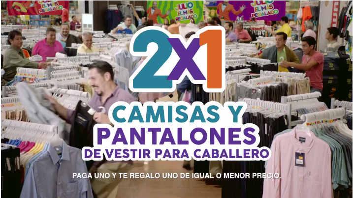 Julio Regalado 2016 2×1 en camisas y pantalones de vestir
