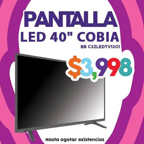 Julio Regalado 2016 Pantalla LED Cobia