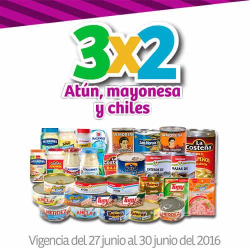 Julio Regalado 2016 3×2 en atún, mayonesa y chiles