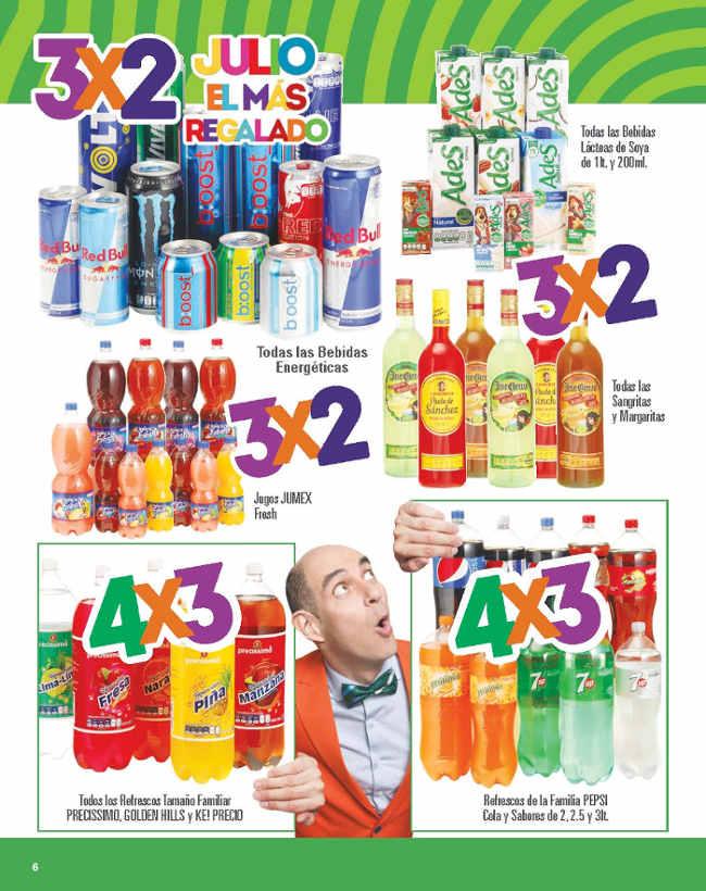 Soriana y Comercial Mexicana Julio Regalado del 8 al 16 de Junio 2016
