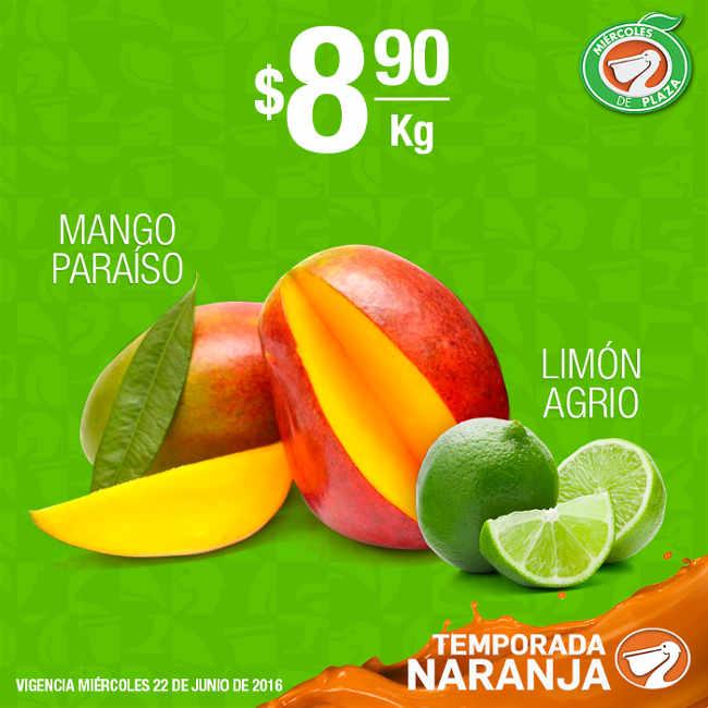 Miércoles de Plaza en La Comer Frutas y Verduras Junio 22