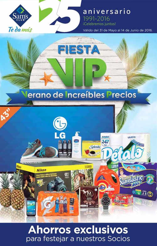 Cuponera Sams Club Junio 2016