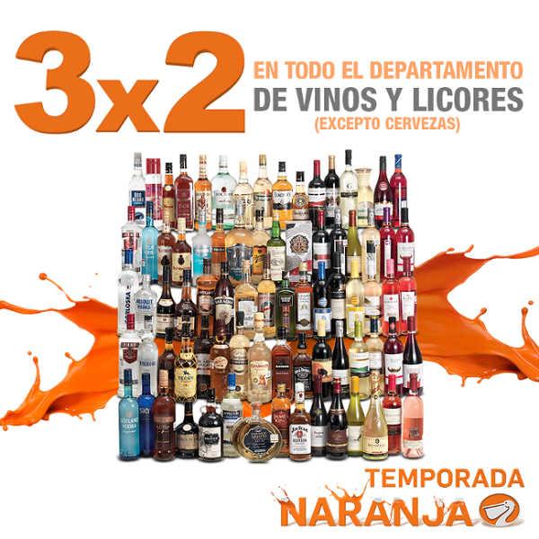 Temporada Naranja Julio Regalado en La Comer 3×2 en vinos y licores
