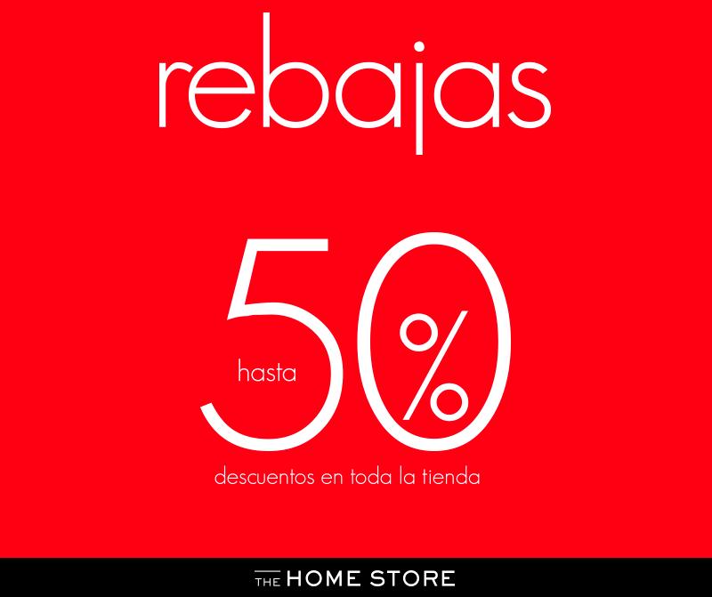 The Home Store rebajas de Hasta 50% de descuento