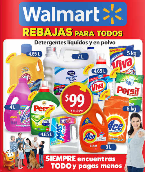 Folleto Walmart Junio Julio 2016