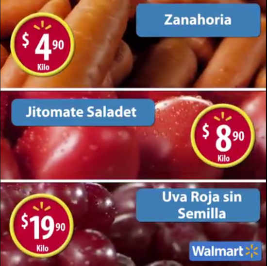 Martes de Frescura Walmart Junio 28