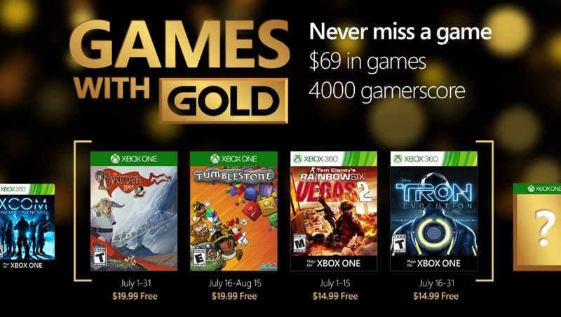 Games with Gold Julio 2016