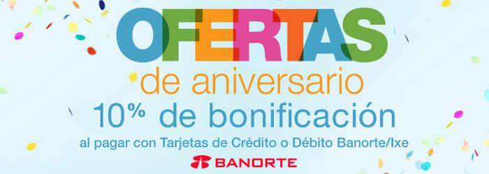 Promociones de Aniversario Amazon México con Banorte