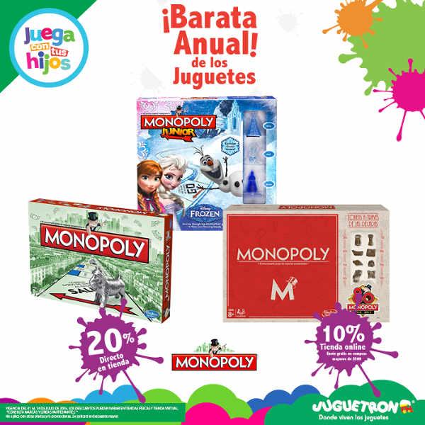 Barata anual de los juguetes en Juguetron