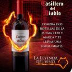Bodegas Alianza 3×2 en vino casillero del diablo