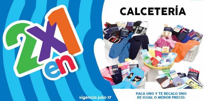Promoción Julio Regalado 2x1 en calcetines para toda la familia